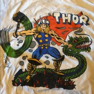 Stüssy x Marvel collaboration Thor T-shirt.